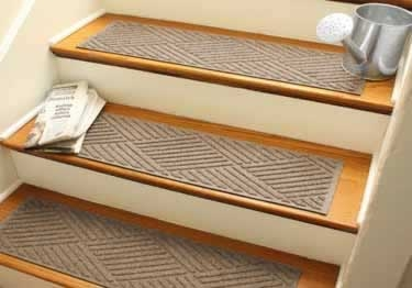 Stair Mats Carpeted Tread Covers   Painted Stairs With Carpet Treads   Oak   Wallpaper   Non Slip   Retrotread   Hardwood