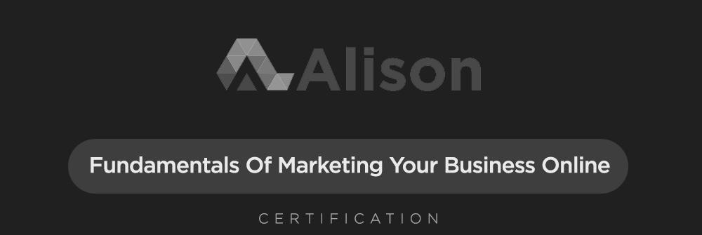 Aliison - Fundamentals of Marketing your Business Online