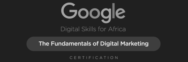 Google Digital Marketing Skills