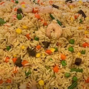 African Food - Fried Rice (Catering)