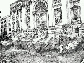 22. Rome in the drawing