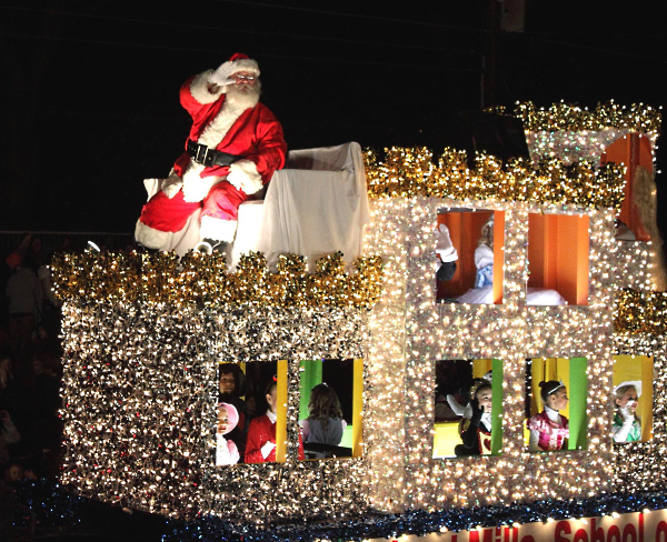 the kiwanis club of orange presents the 69th annual orange christmas parade a very merry hollywood christmas the lighted parade being held in memory of - When Is The Christmas Parade