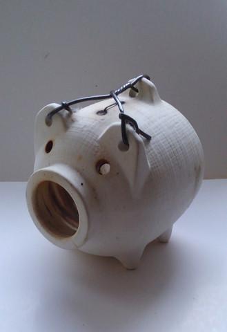 蚊取り器 豚