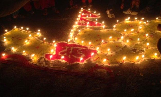 दाङको भालुवाङ प्रदेश राजधानी घोषणा भएपछि दाङमा दीपावली
