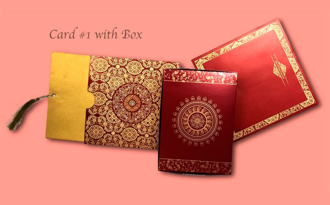 Wedding Cards Print Indian Style In