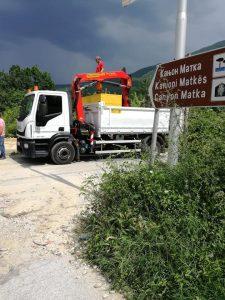 Higjiena Komunale Shkup angazhon puntorë për pastrimin e Kanjonit të Matkës
