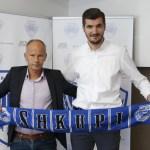 """Legjenda e Shkëndijës, Qatoja trajner i KF """"Shkupit"""""""