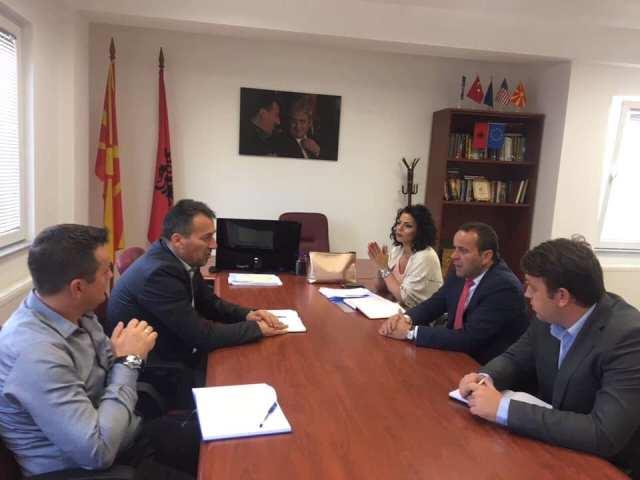 Ministri Hisen Xhemaili, sot ka realizuar takim zyrtar edhe me kryetarin e Komunës së Sarajit z.Blerim Bexheti