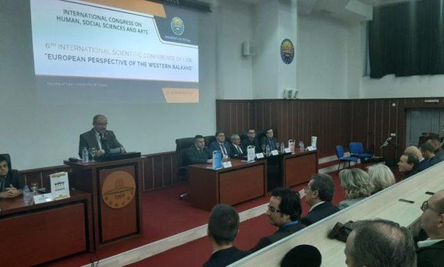 Kongres ndërkombëtar i shkencave dhe arteve humaniste dhe sociale në Universitetin e Tetovës