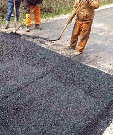 Bekim Memeti sot përfundoi asfaltimin e rrugës Kondovë   Radushë  Foto