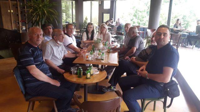 """Kandidati për deputet nga """"TASH është koha"""", Hysni Ismaili u takua anëtarët e Kryesisë së Shoqatës së Shkrimtarëve OENEUM – Tetovë"""