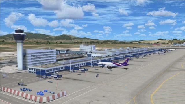 Numri i pasagjerëve në aeroportet greke u ul me 74% në shtatë muajt e parë të këtij viti