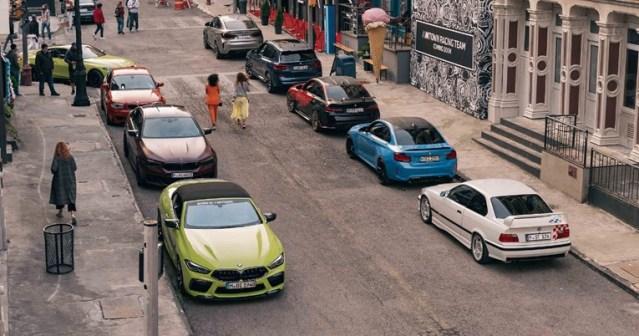 Ky është një qytet ku të gjithë ngasin modele sportive BMW M