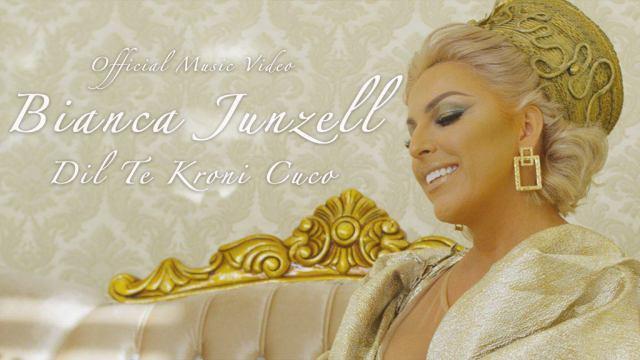Një yll si Bianca Junzell, sjellë në stilin modern këngën 'Dil te kroni cuco'