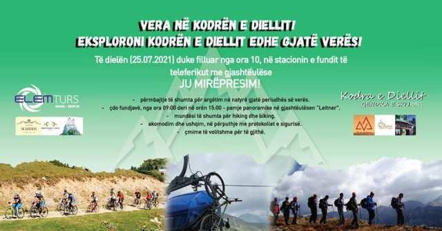 Nesër prezantohet oferta e Kodrës së Diellit dhe shumë aktivitete tek Qendra e skijimit