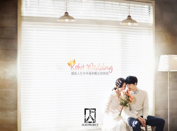 Kohit Wedding- Korea Pre Wedding Photoshoot 1