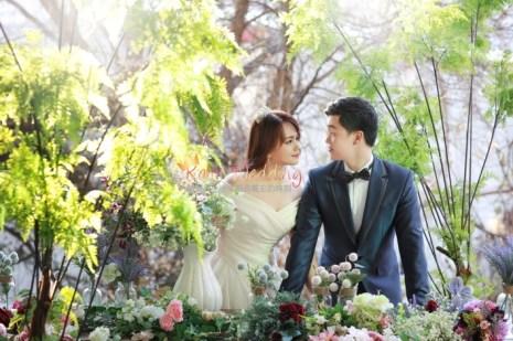 korea prewedding photo