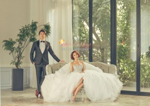 Korean Pre Wedding -Camelias in Seoul 14
