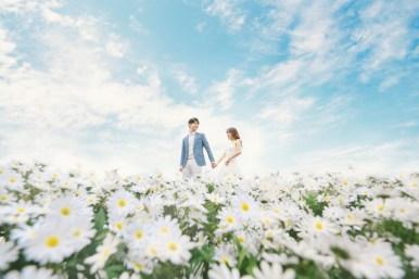korea pre wedding photos