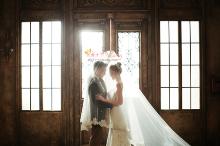 The face studio- Korea pre wedding photoshoot