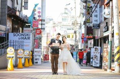 korea prewedding photos