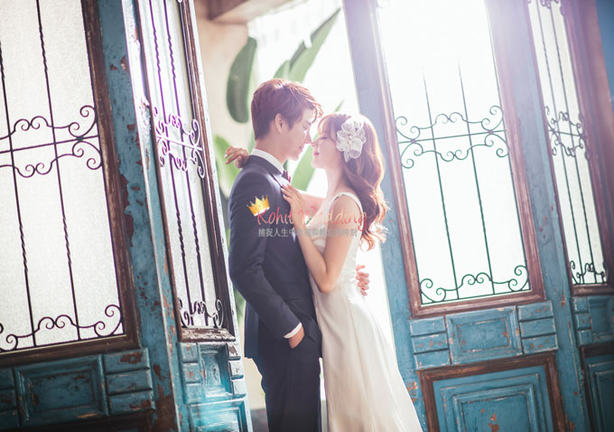 Kohit wedding prewedding in Korea - Nadri studio 25