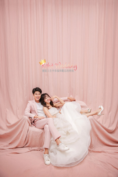 Kohit wedding prewedding in Korea - Nadri studio 39