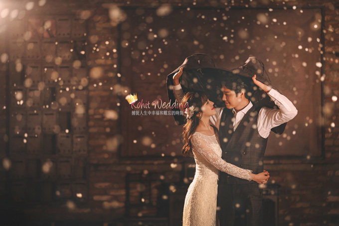 Kohit wedding prewedding in Korea - Nadri studio 44