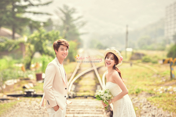 Kohit wedding prewedding in Korea - Nadri studio 50