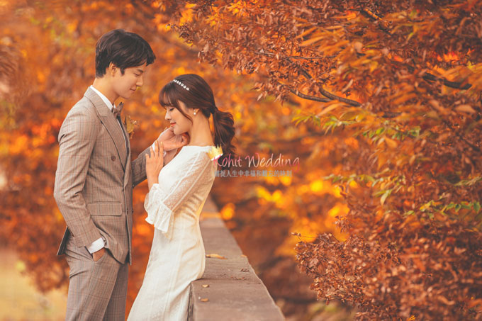 Kohit wedding prewedding in Korea - Nadri studio 54