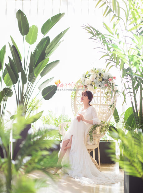 Kohit wedding prewedding in Korea - Nadri studio 9