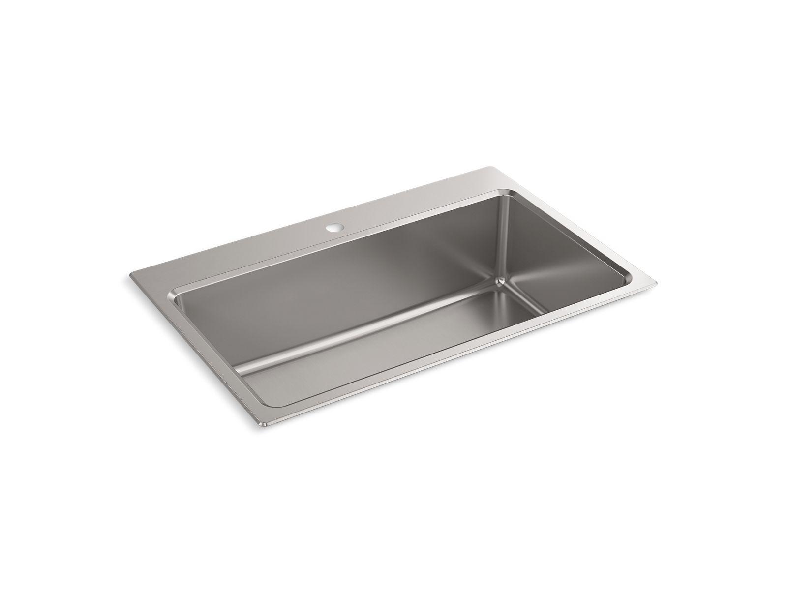 prologue top mount undermount kitchen sink k r31466 1 kohler kohler
