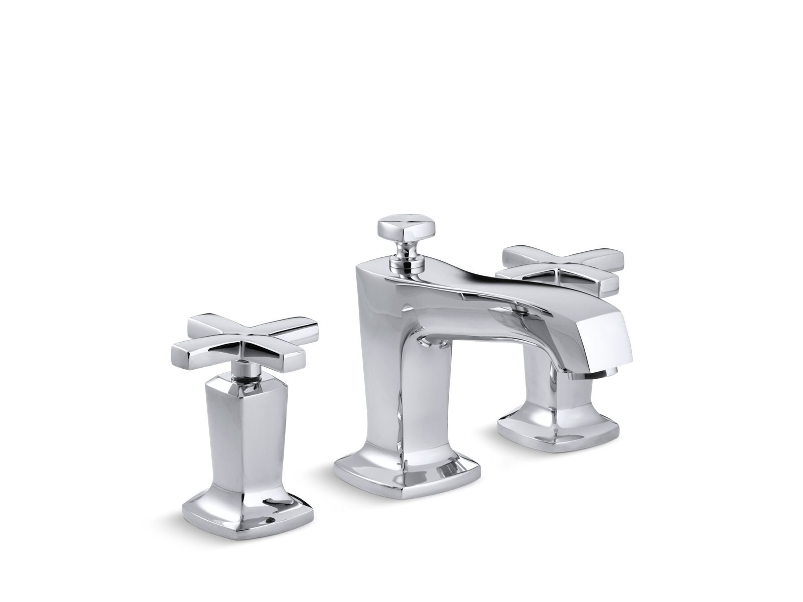 k 16232 3 marguax widespread sink faucet with cross handles kohler