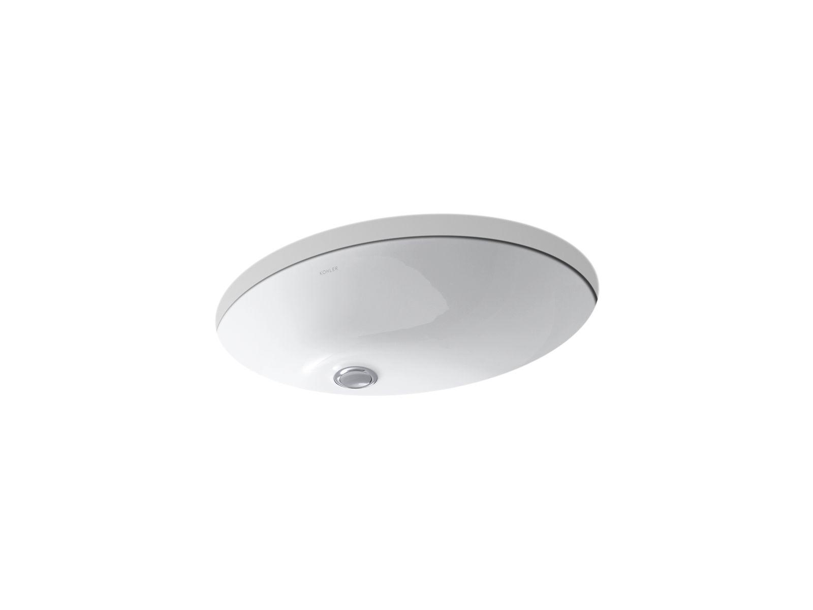k 2211 caxton undermount sink 19 by 15 inches kohler