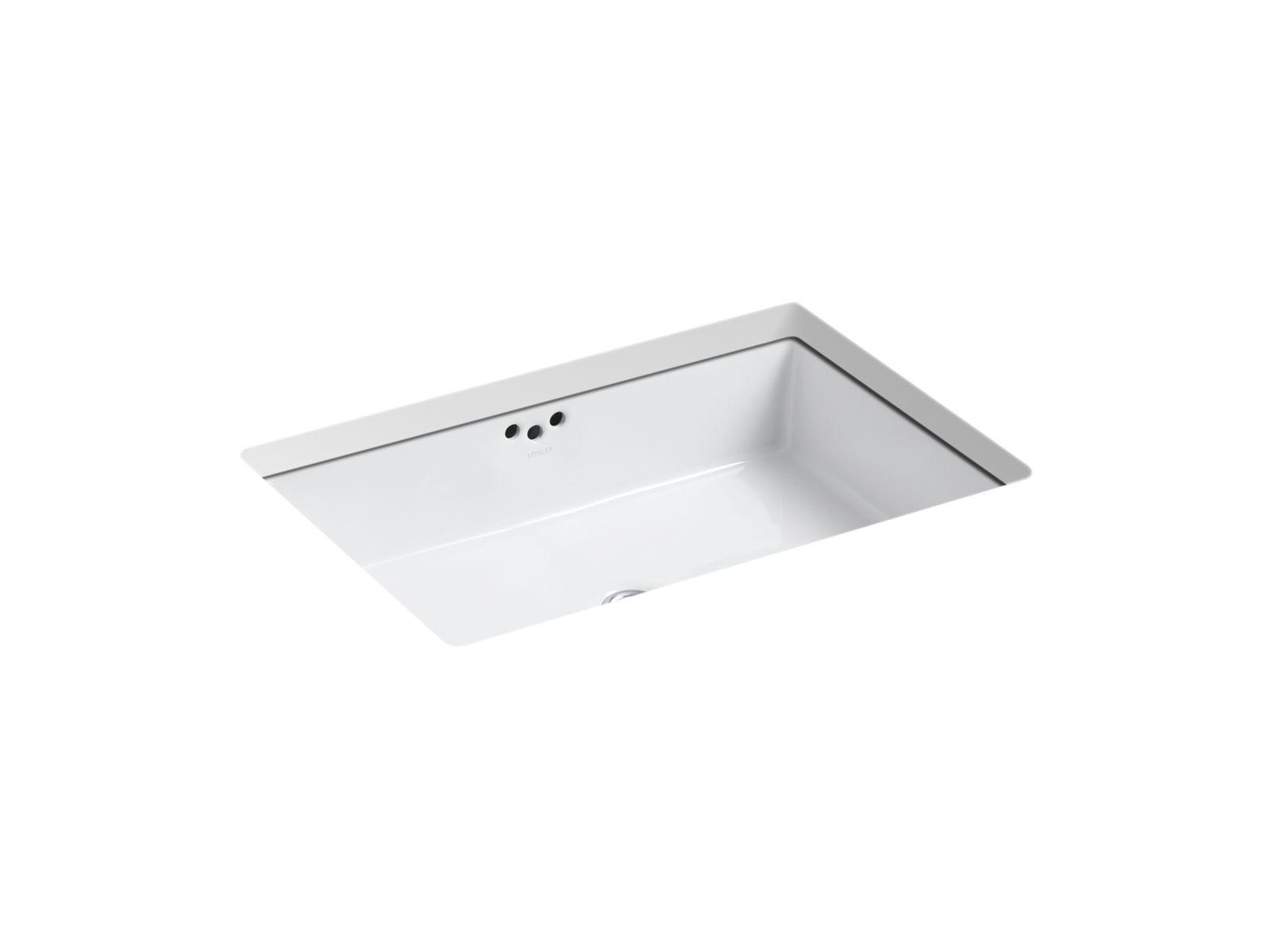 kohler devonshire undermount bathroom
