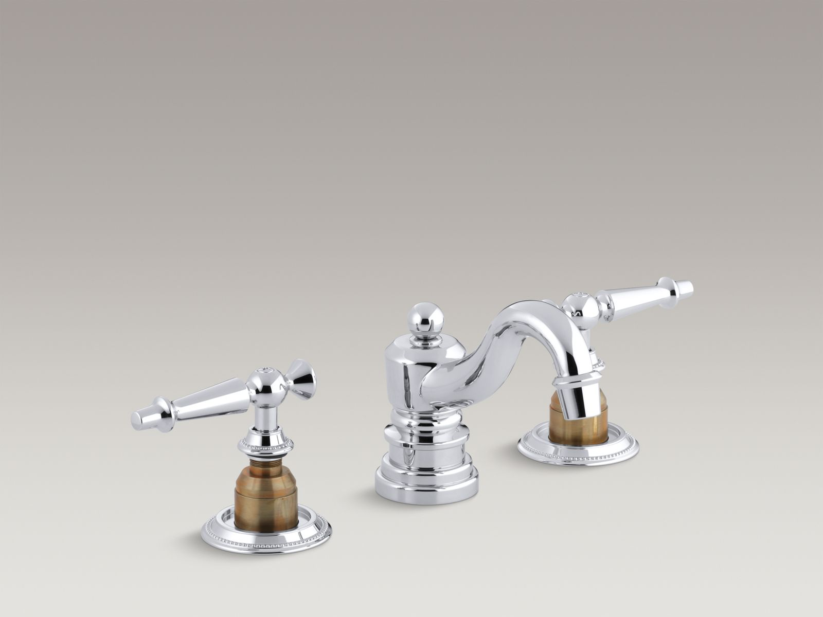 kohler antique widespread sink faucet