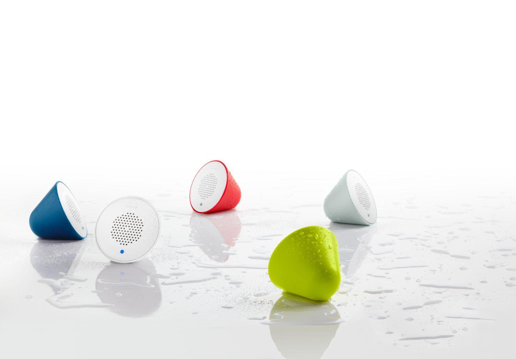 Moxie Showerhead Wireless Speaker Bathroom New Products