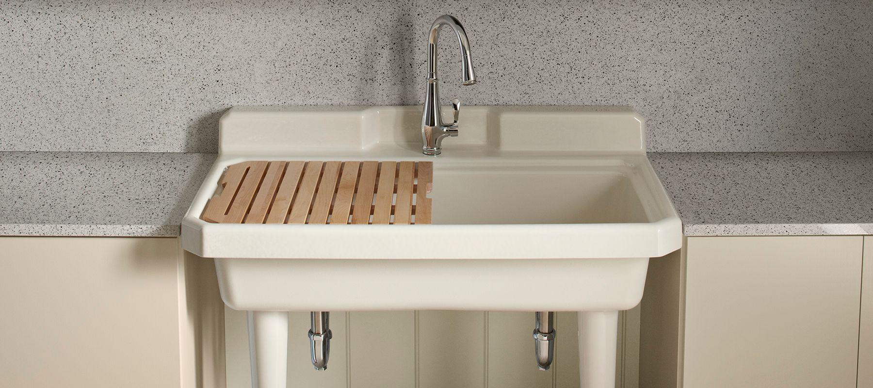utility sinks kitchen kohler