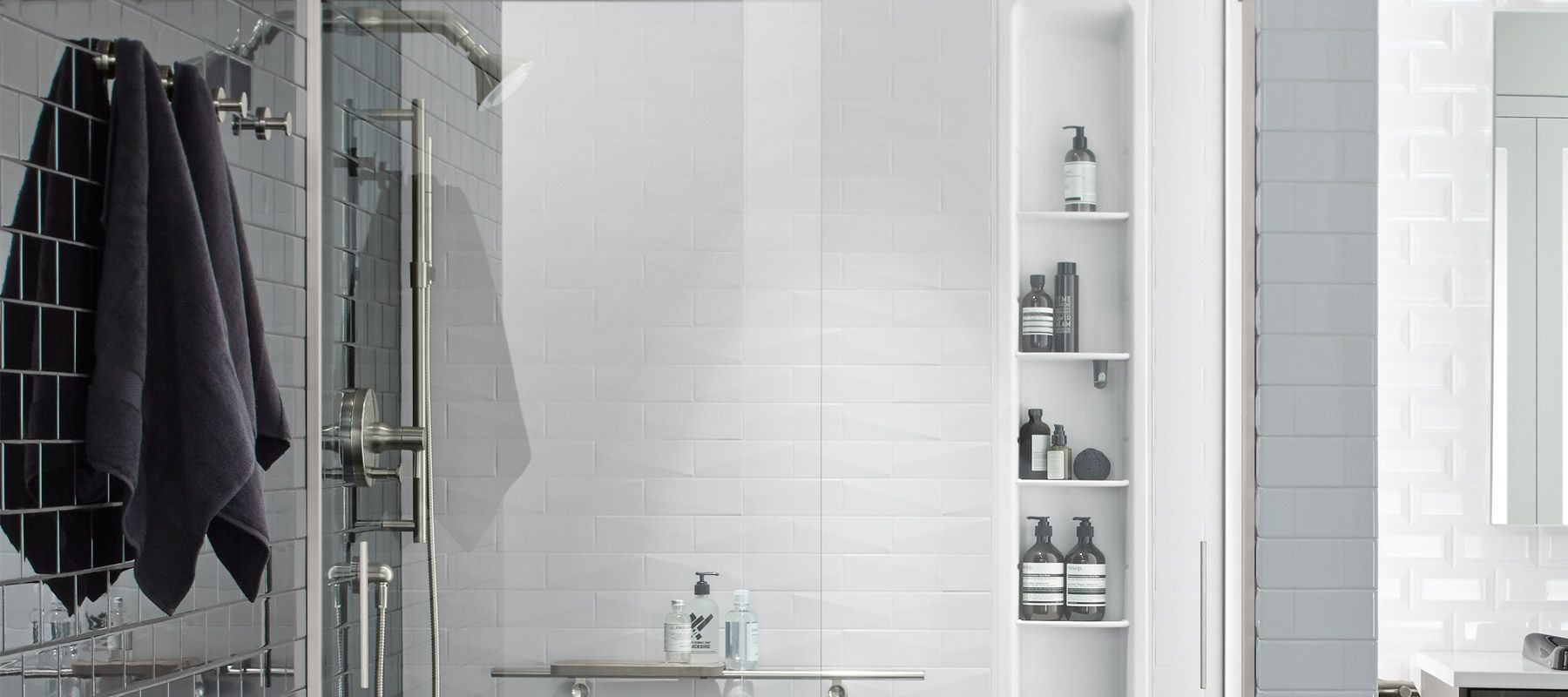 Quartz Shower Walls