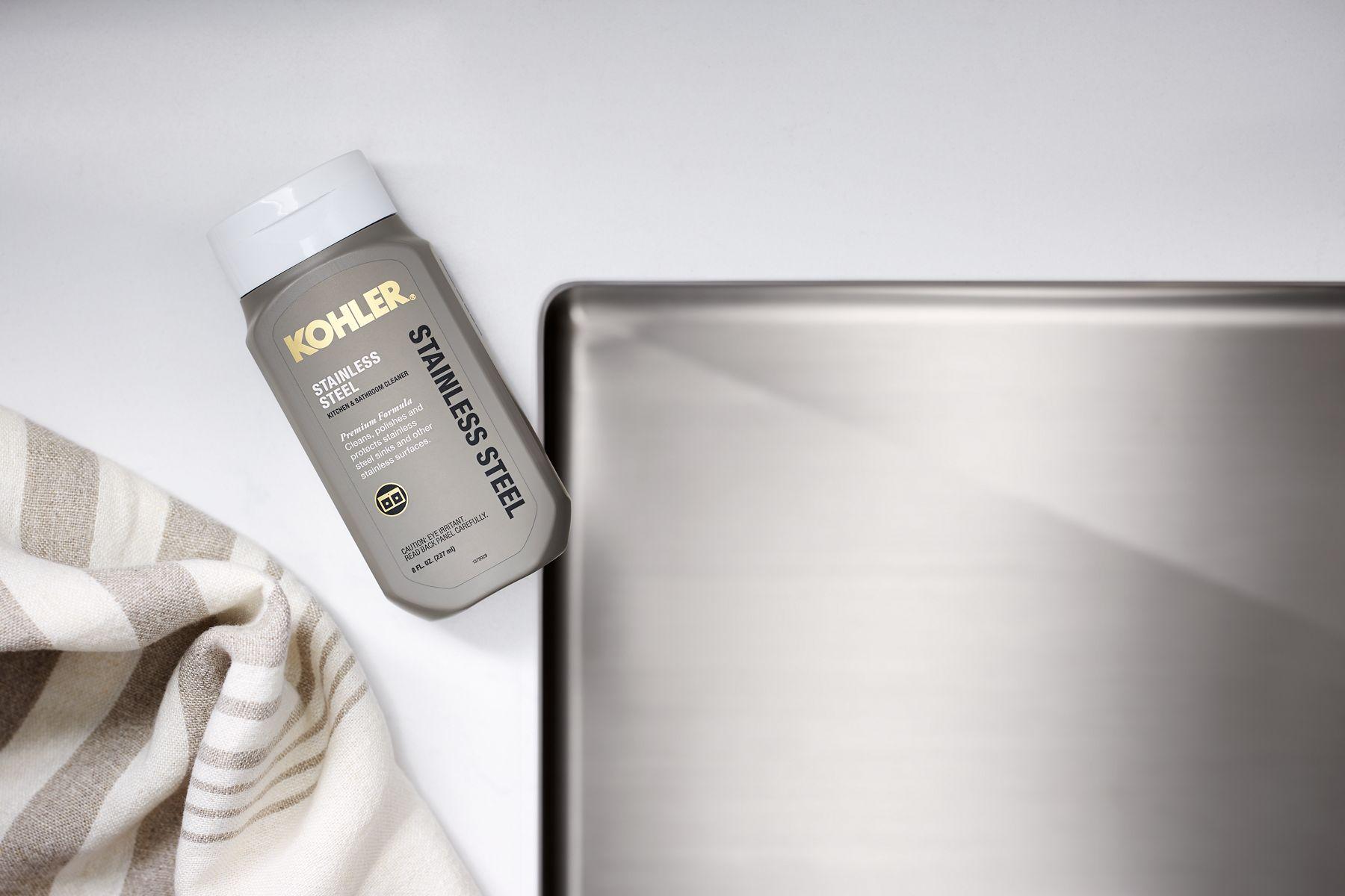 stainless steel kitchen sinks cleaner