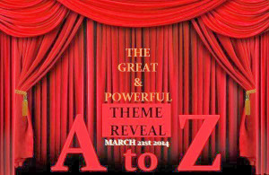 Letting the Cat Out of the Bag- #AtoZ Theme Reveal