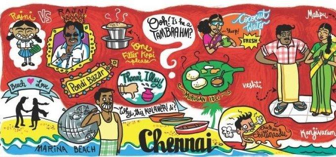 Happy Birthday, Madras!!