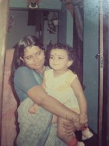 One of my favorite pics with her, till date!! :D
