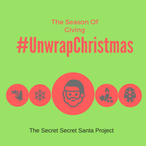 Be a Santa Everyday #UnwrapChristmas