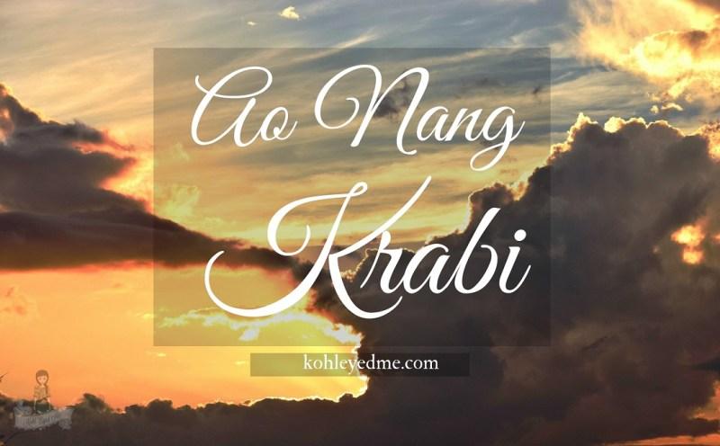 Ao Nang Krabi - Ao Nang Sunset - Krabi Sunset - 1080 × 670 image