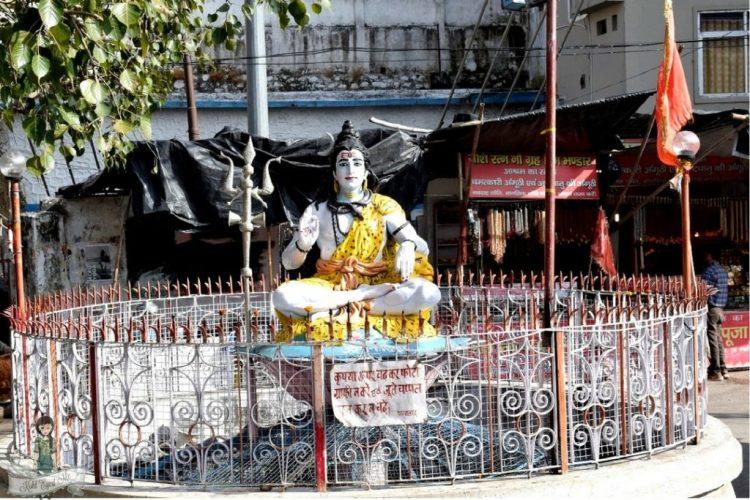 Shiva Round About Lakshman Jhula