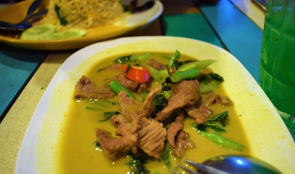 Beef in Yellow curry