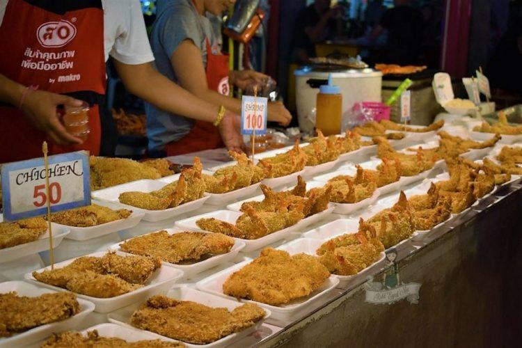 Food in Night Market, Thailand