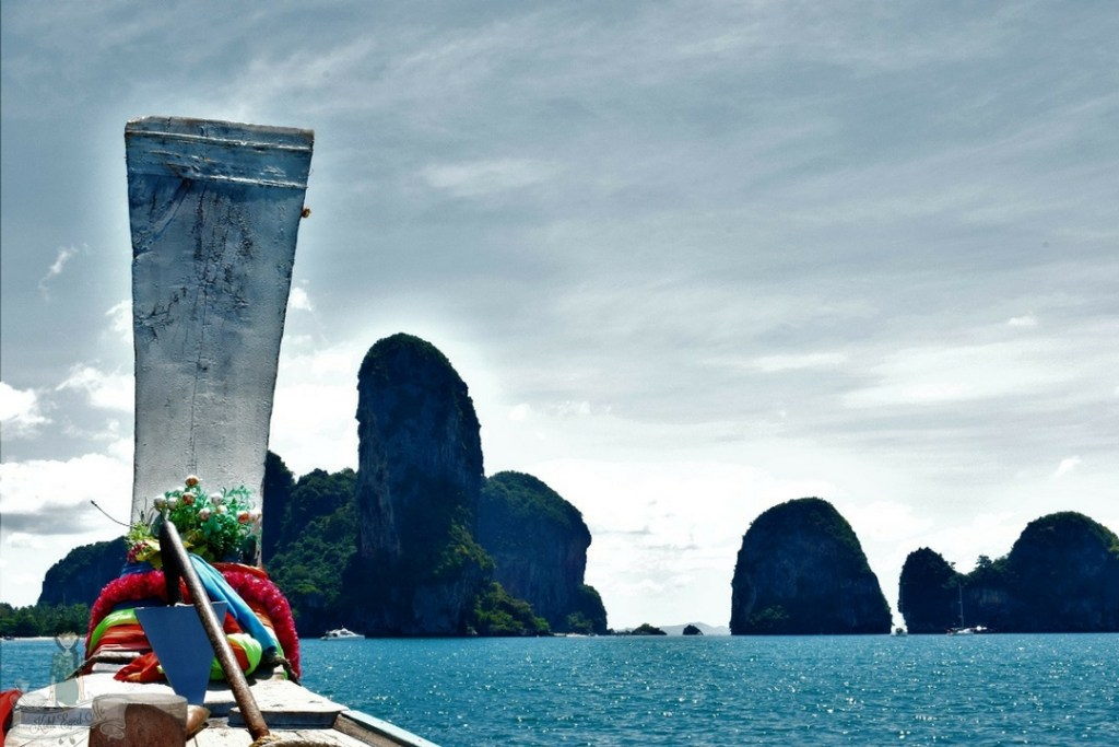 Krabi- Long tail boat - Thailand