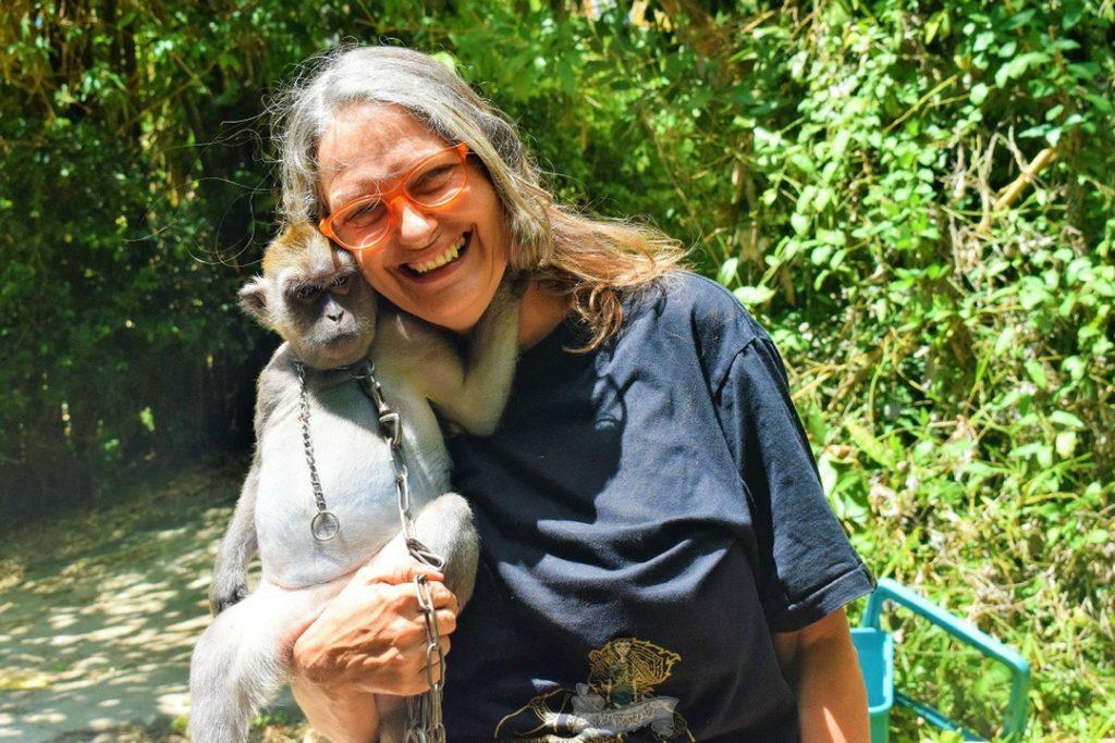 Nina at Giant Catfish Farm Ao Nang Krabi Images